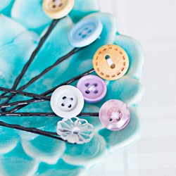 Bobby Pins and Old Buttons