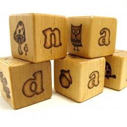 Hand Carved Wood Blocks