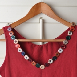 Easy Button Collar DIY