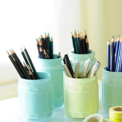 DIY Pintado Mason Jars