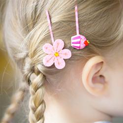 DIY Pretty Hair Pins