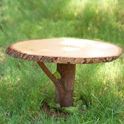 Rustic Wooden Cakestand DIY