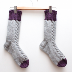 Free Knitting Pattern Bed Socks : BED SOCK KNITTING PATTERNS - Free Patterns