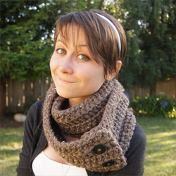 Cách móc khăn ống cho nữ mới – Đan khăn ống cho nữ