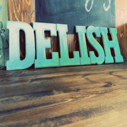 diy wooden kitchen sign | craftgawker