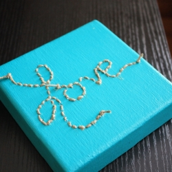 diy canvas wall art | craftgawker