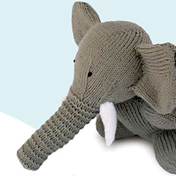 Free Knitting Pattern For Elephant Toy : KNITTING PATTERNS CHILDREN S TOYS 1000 Free Patterns