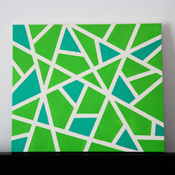 easy diy canvas wall art | craftgawker