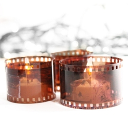 Film Roll Candle Ring