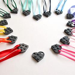 A LEGO Valentine