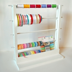 Ribbon and Washi Tape Storage