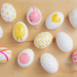 Sharpie DIY Easter Eggs