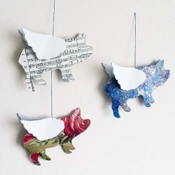 DIY Flying Pigs