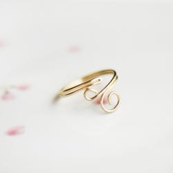 DIY // Swirl Ring