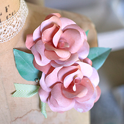 Paper Flower Corsages And Boutonni Res Plus Tutorial Lia Griffith