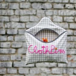 Cloth Pin Bag