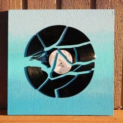 Broken Record Ombre Wall Art