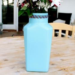 DIY Colourful Vase