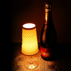 DIY Paper Cup Candle Light Lamp