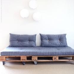 A Pallet Sofa