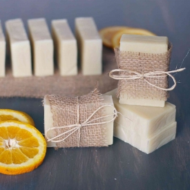 Orange + Tea Tree Soap