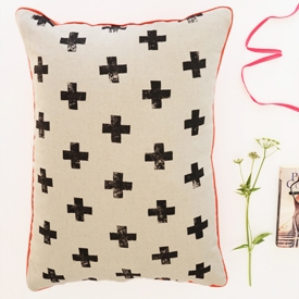 Print Fabric with Potatoes