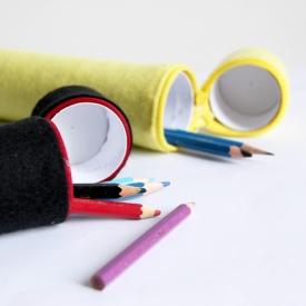 Toilet Roll Pencil Case