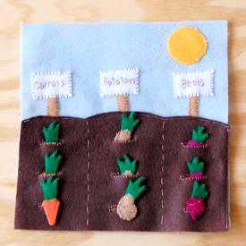 Garden Quietbook Template