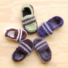 Monk Strap Baby Shoes Pattern