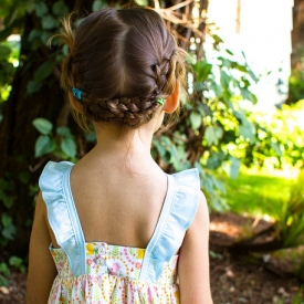 Woodland Fauna Edelweiss Dress