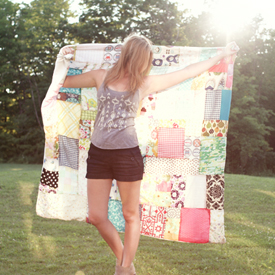 Patchwork Picnic/Beach Blanket