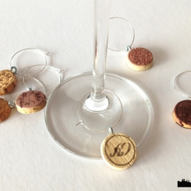 Wine Cork Charms
