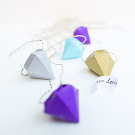 Diamond Pinata DIY Necklace