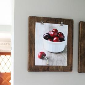 DIY Photo Clipboards
