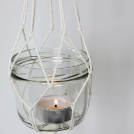 DIY: Hanging candles