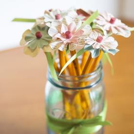 Pencil Flowers – Teacher Gifts