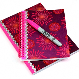 Digital Collage Notebook Covers