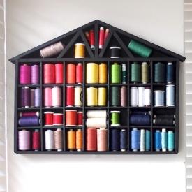 House Shelf Thread Storage