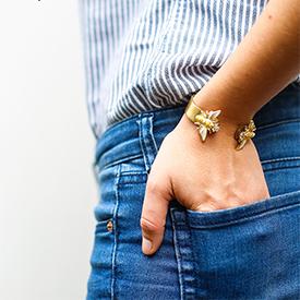 Trendy Bee Bracelet
