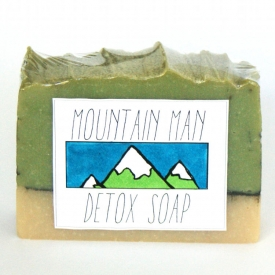 Natural Detoxifying Soap for Men