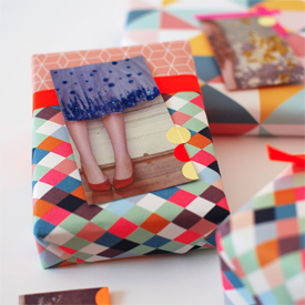Make Gift Tags from Magazines