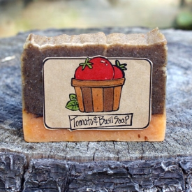Natural Tomato & Basil Soap Recipe