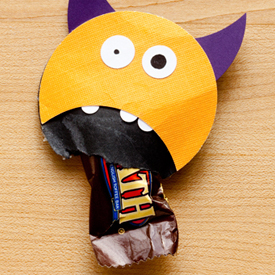 Monster Mouth Halloween Favors