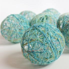 Yarn Ball Garland Tutorial