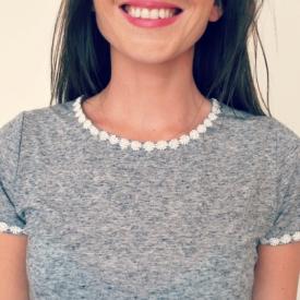Daisy Trim Dress DIY