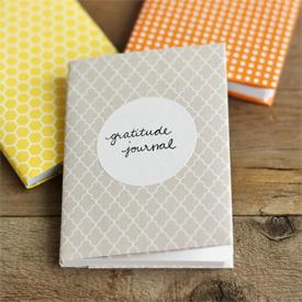 5-minute DIY gratitude journals
