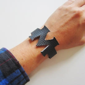 Initial Bracelet DIY