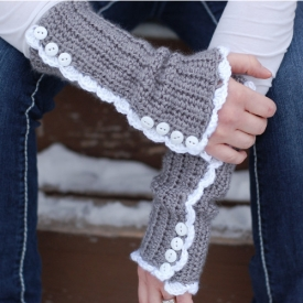 Vintage-Inspired Armwarmers