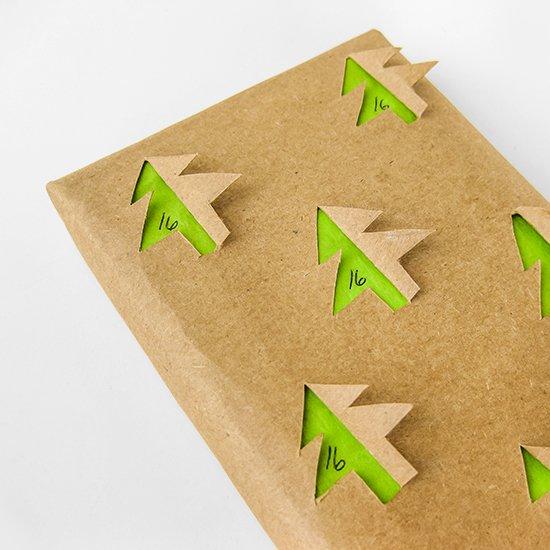DIY Cutout Tissue Wrap