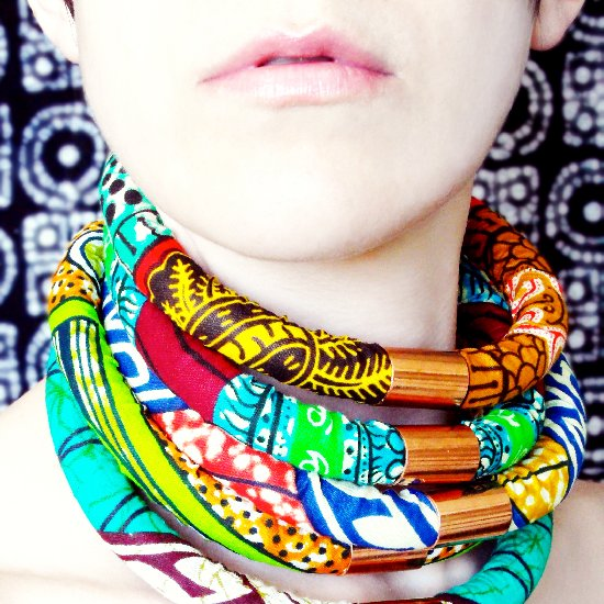 DIY African Neck Ropes